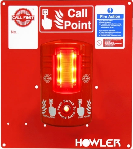 Call post fire alarm hire